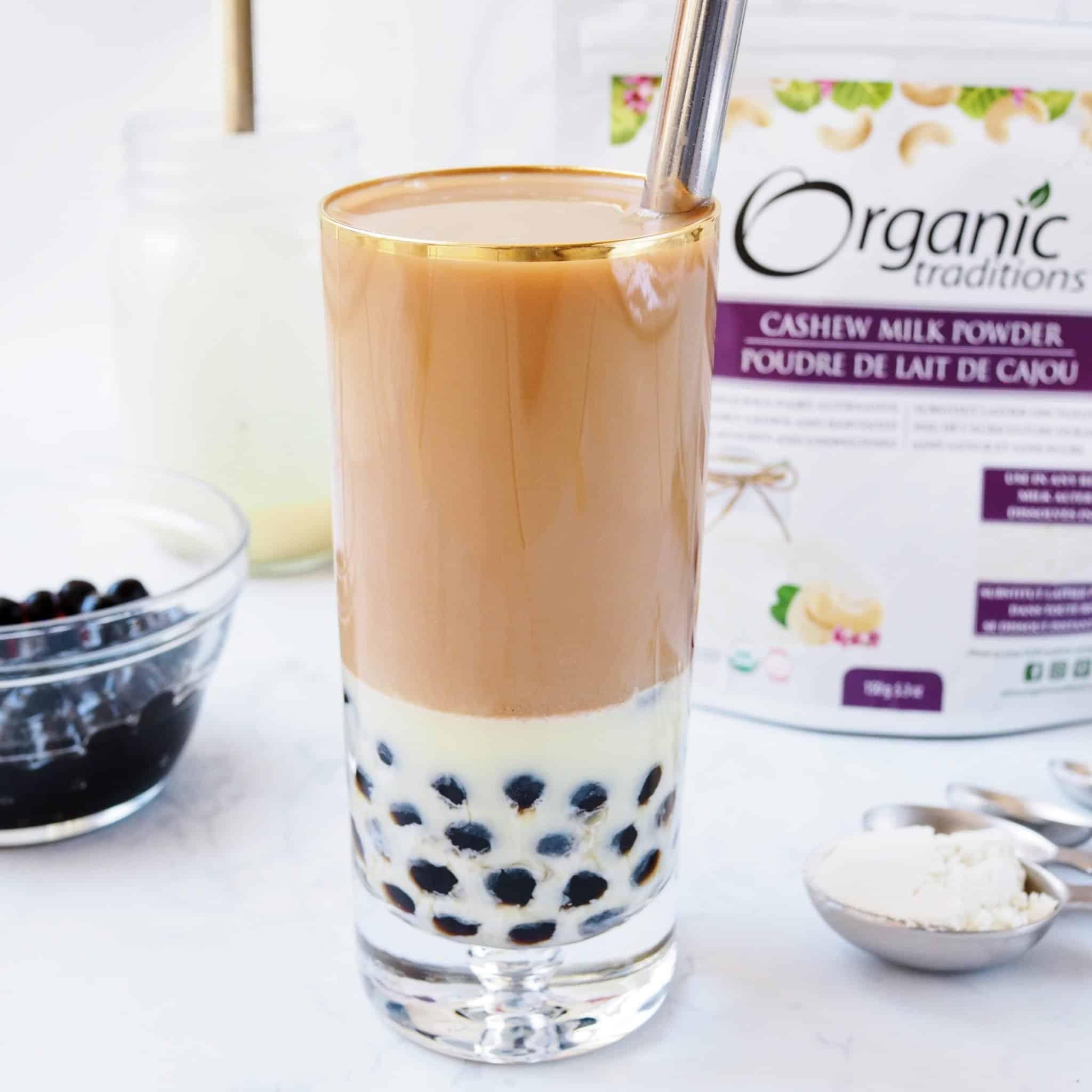 earl grey milk tea organic traditions