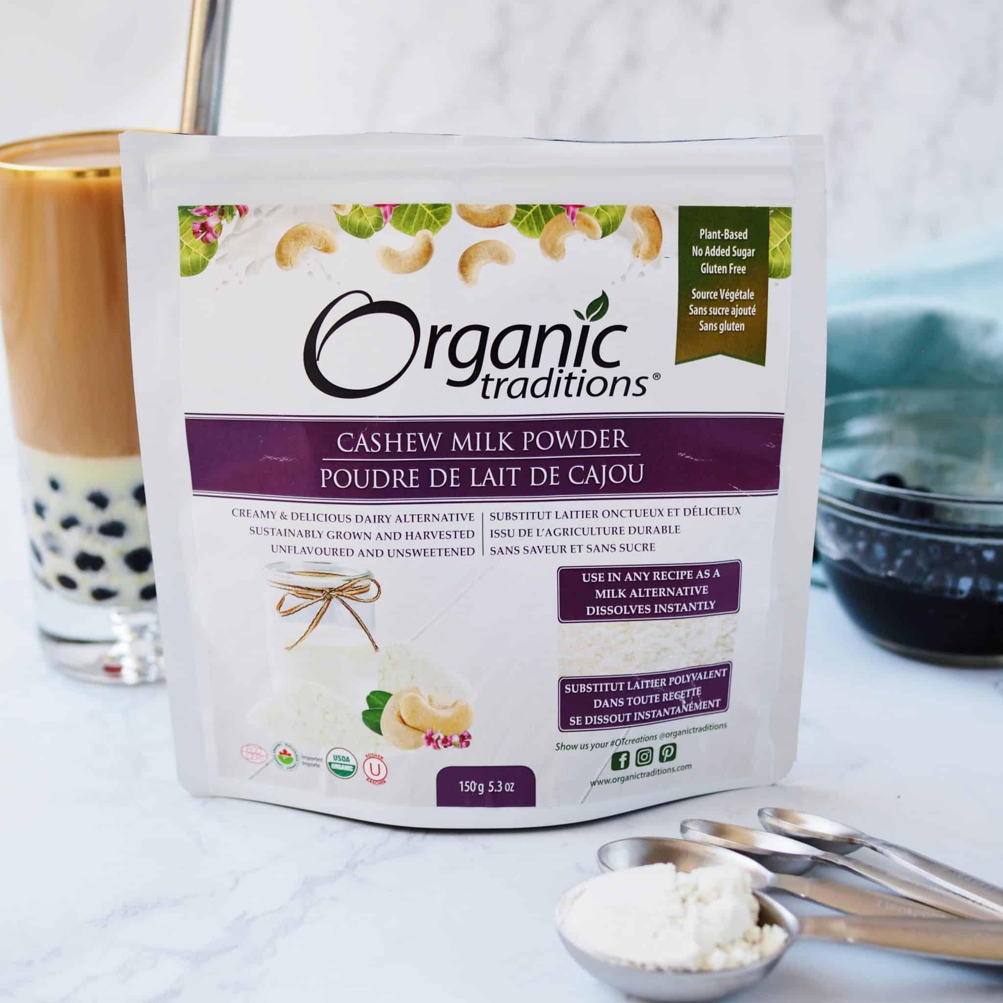 Earl Grey Bubble Tea Organic Traditions