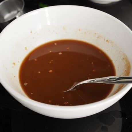 Sweet and Sticky Tofu sauce