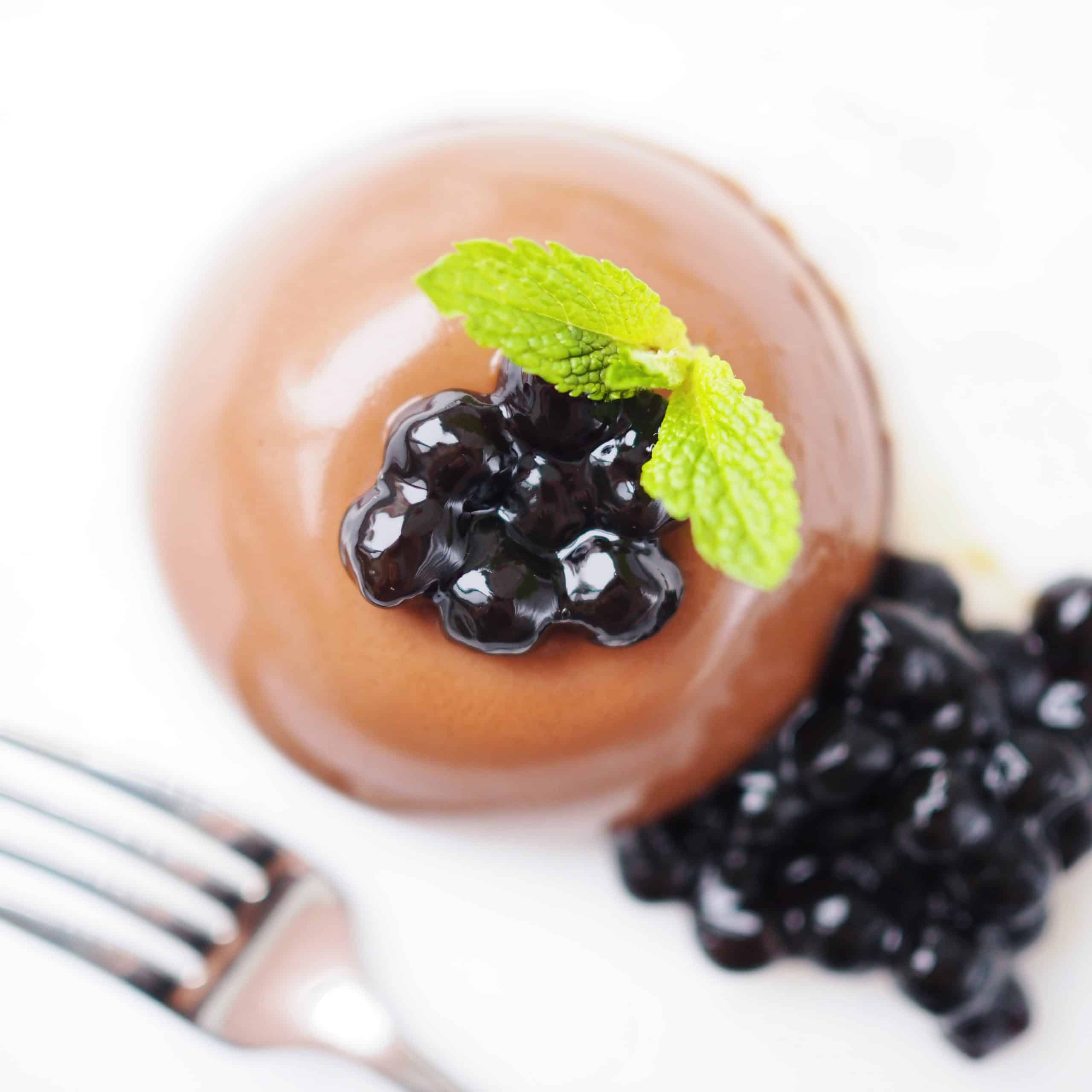 Boba Mint Chocolate Mousse