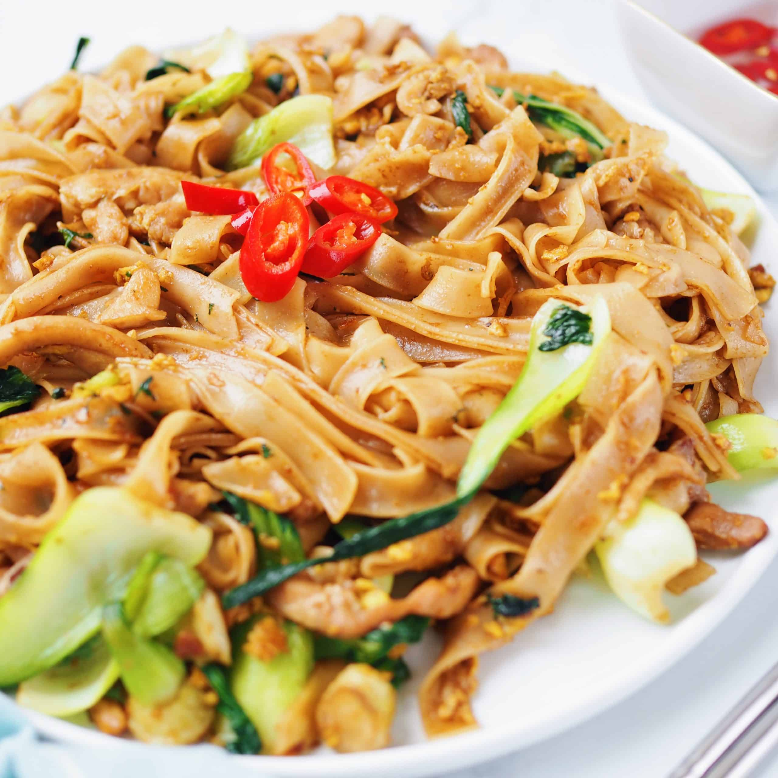 Chicken Pad See Ew