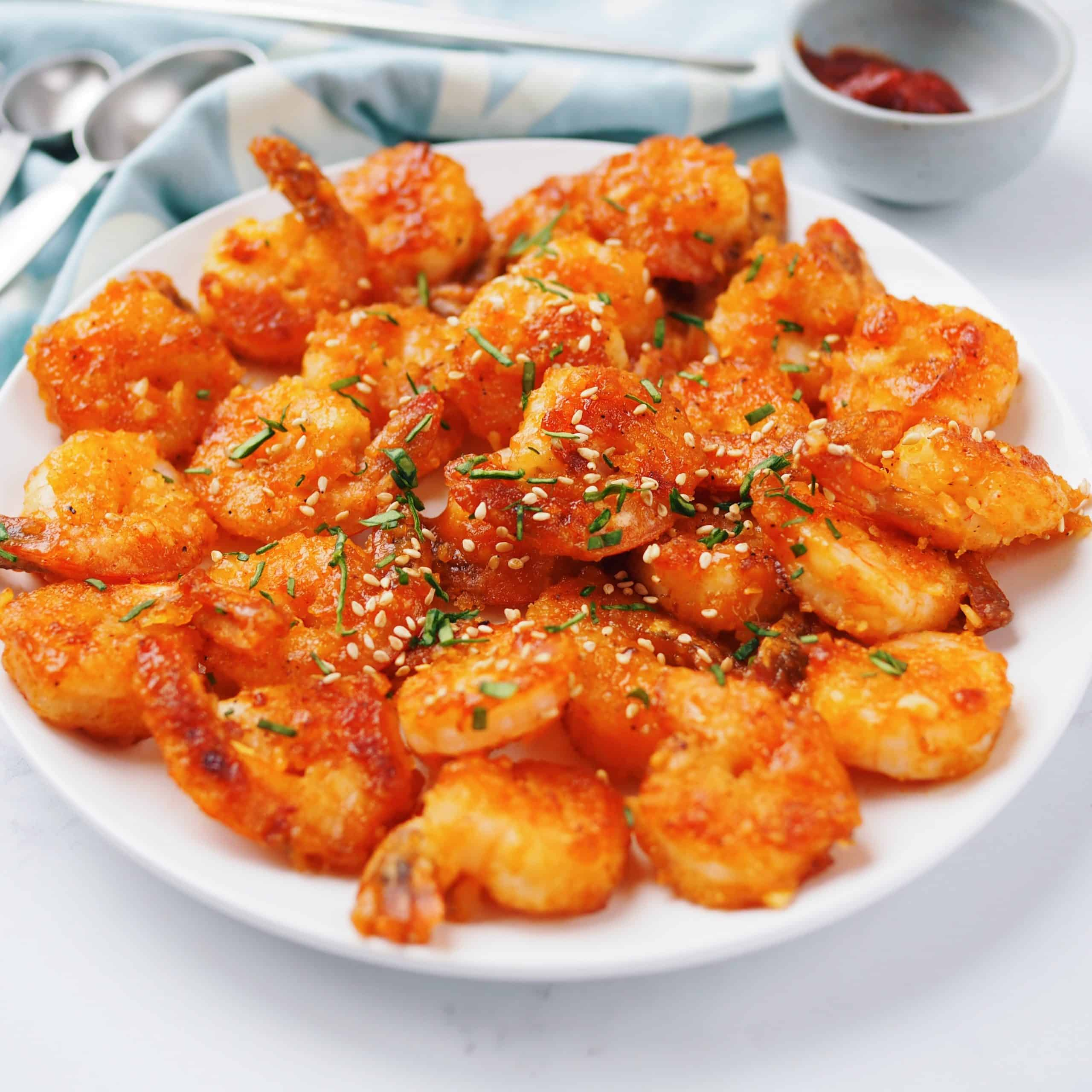 Gochujang Honey Shrimp