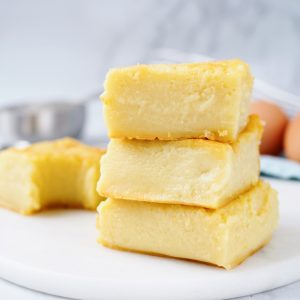 Hawaiian butter mochi