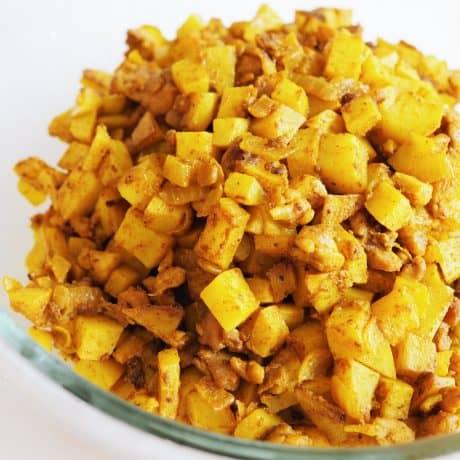 Malaysian Curry Puff filling