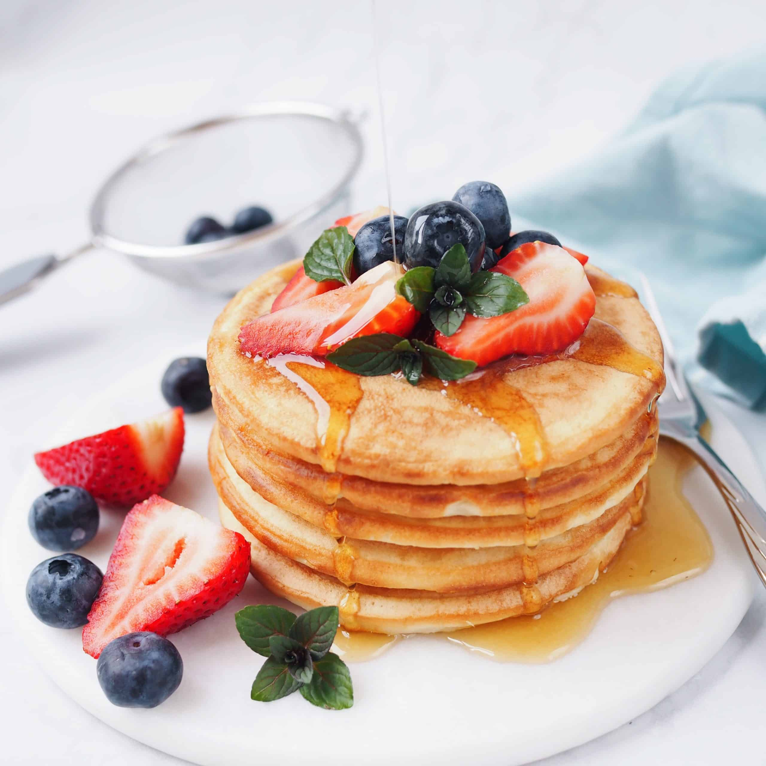 Japanese Mochi Pancakes