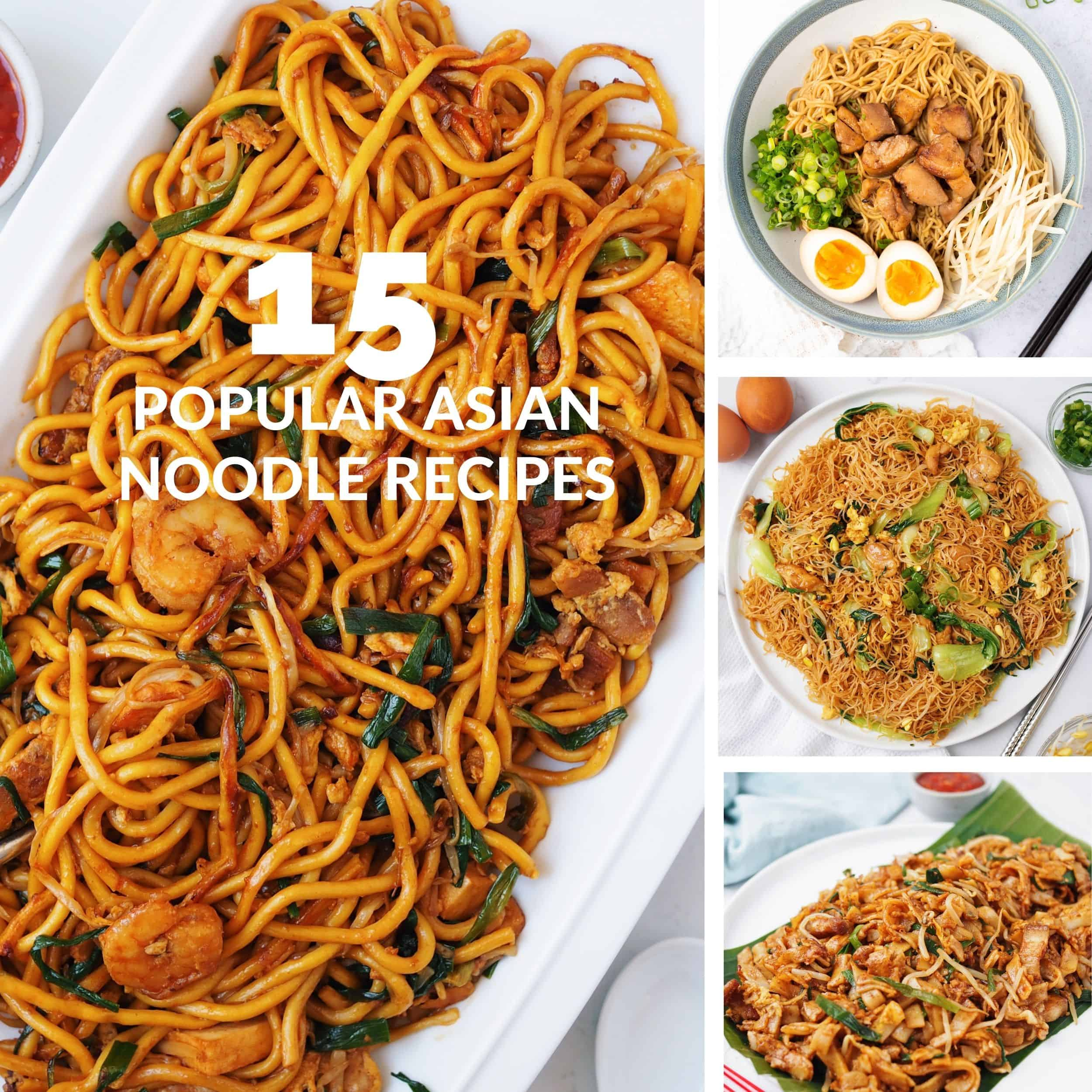 15 popular asian noodle recipes