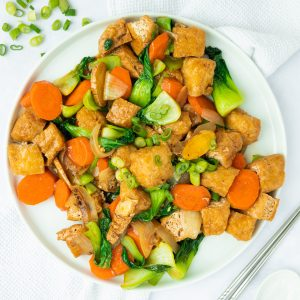 chinese five spice tofu stir fry