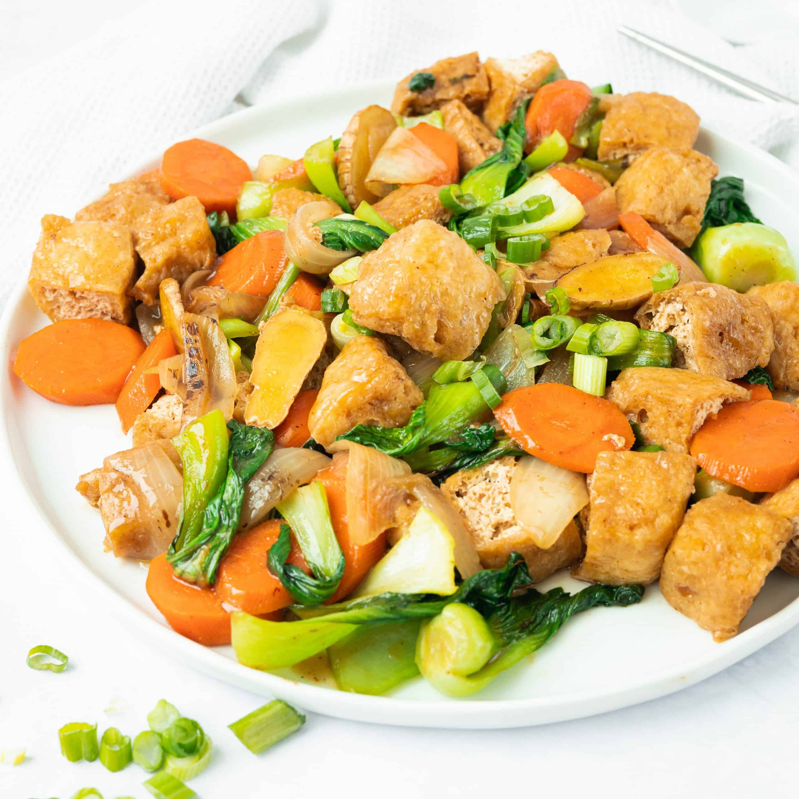 Chinese Five Spice Tofu Stir-fry