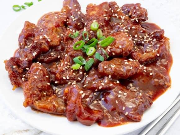 Peking Pork Chops