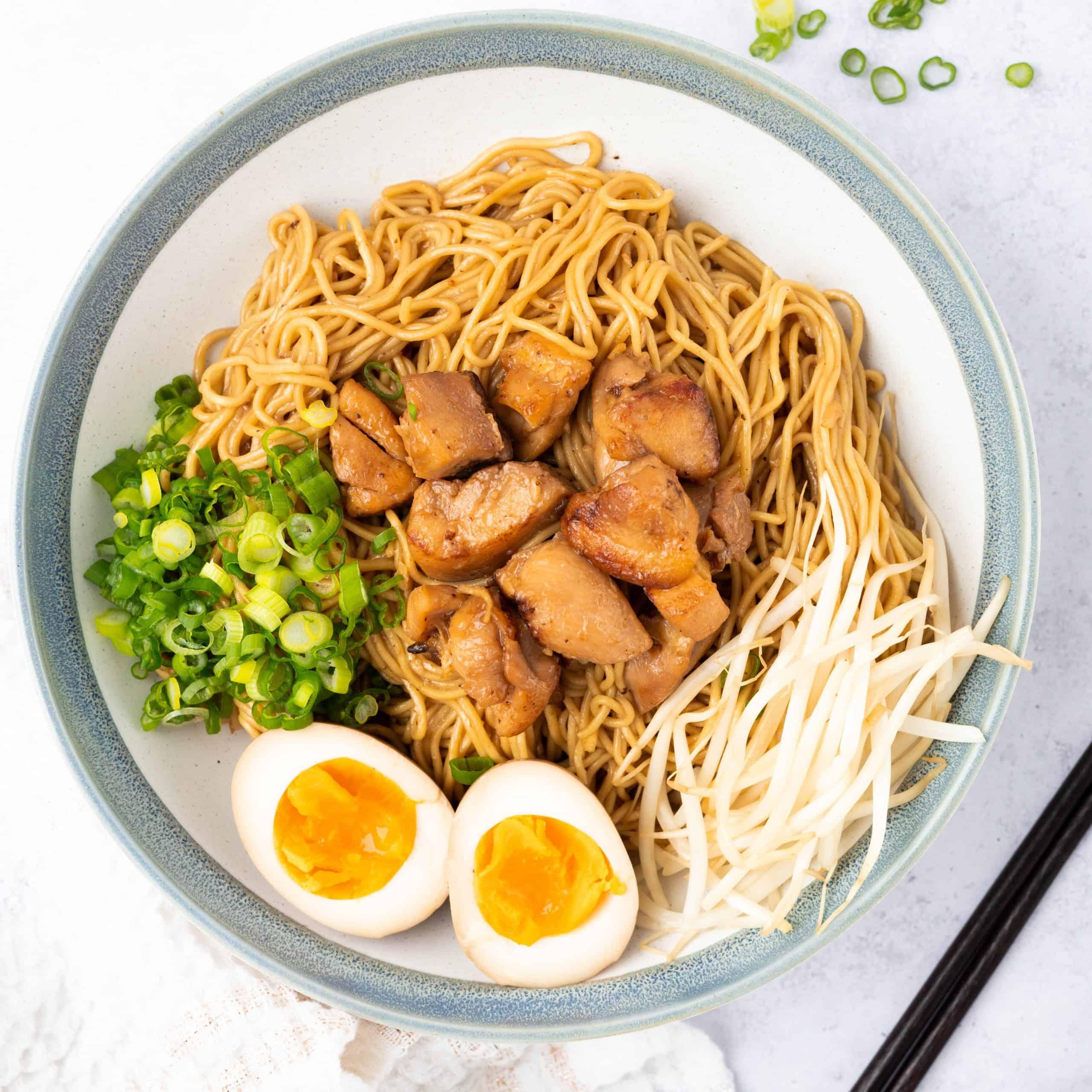 Soy Chicken Ramen Bowl