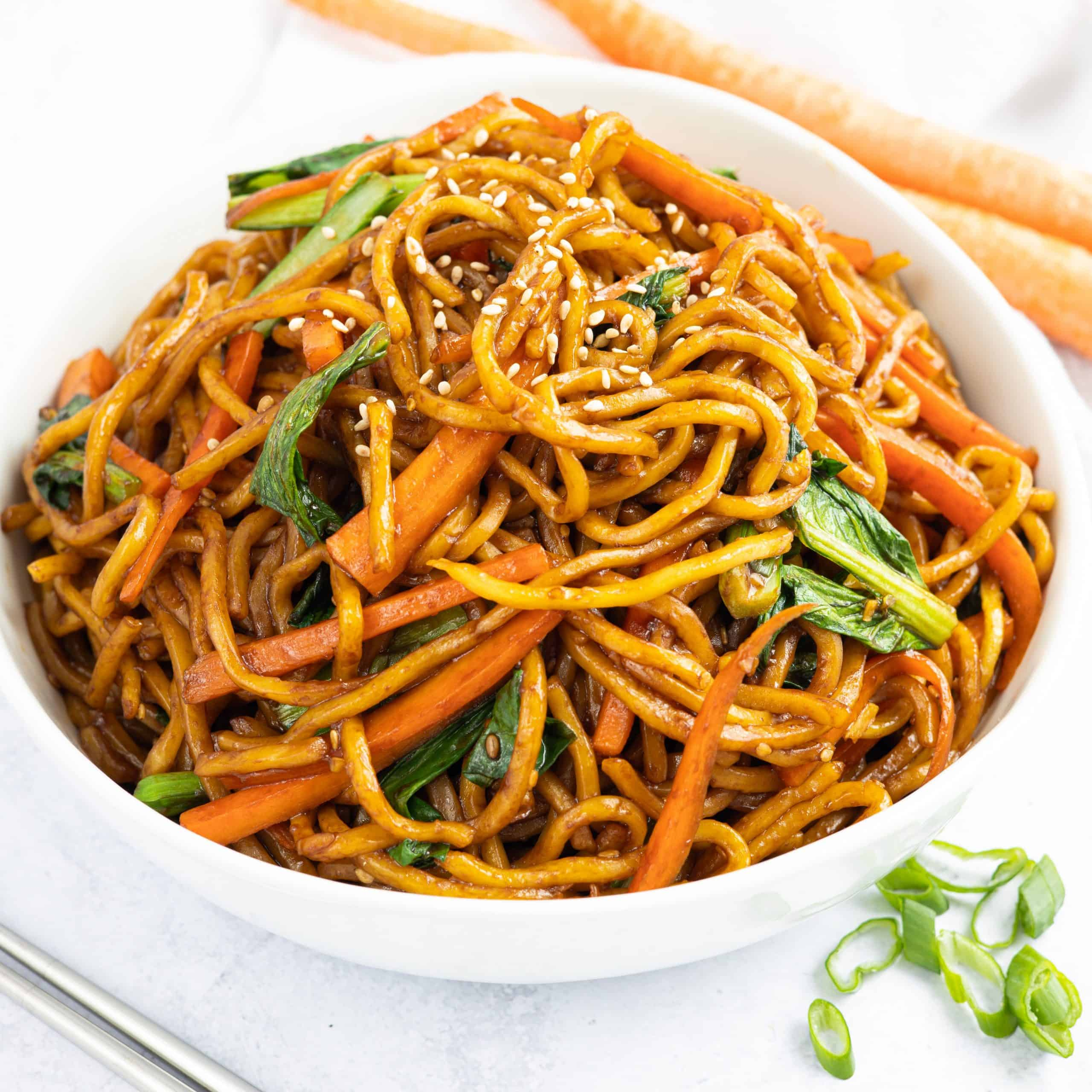 Vegan Asian Sesame Noodles