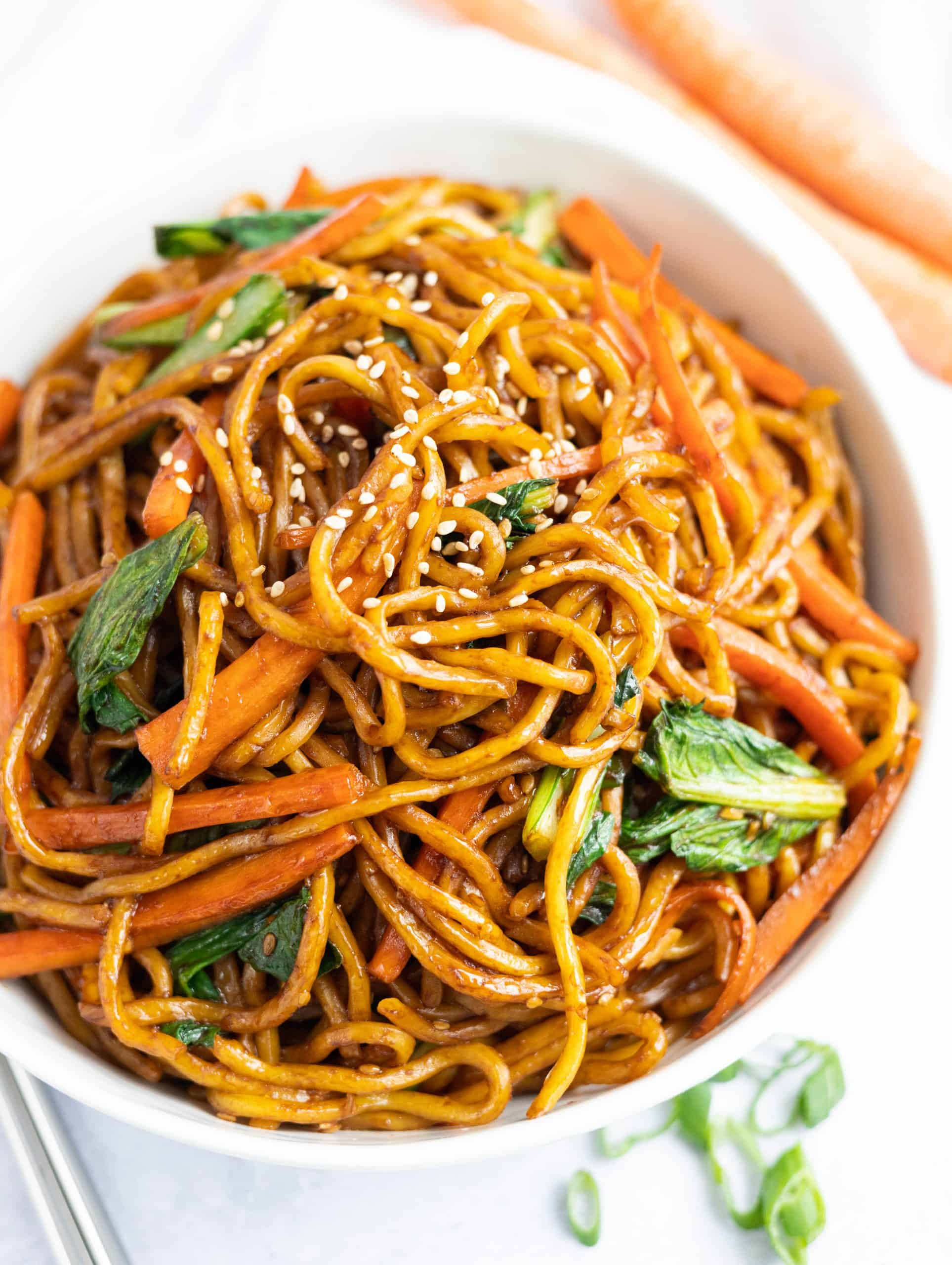 Vegan Asian Sesame Noodles