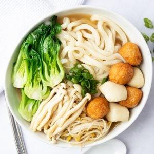 Fish Ball Noodle Soup