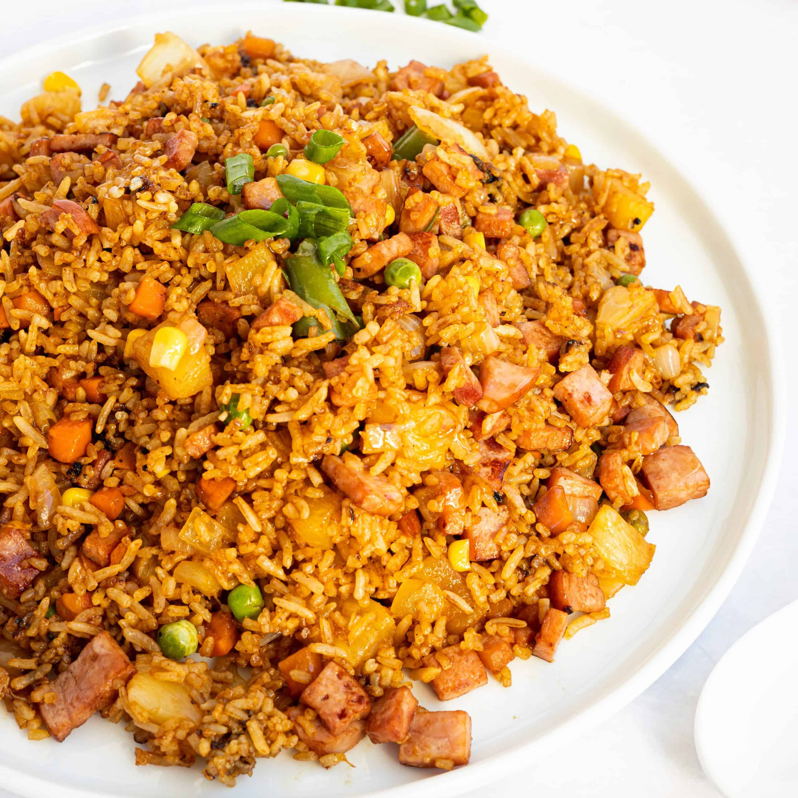 Ham Pineapple Fried Rice