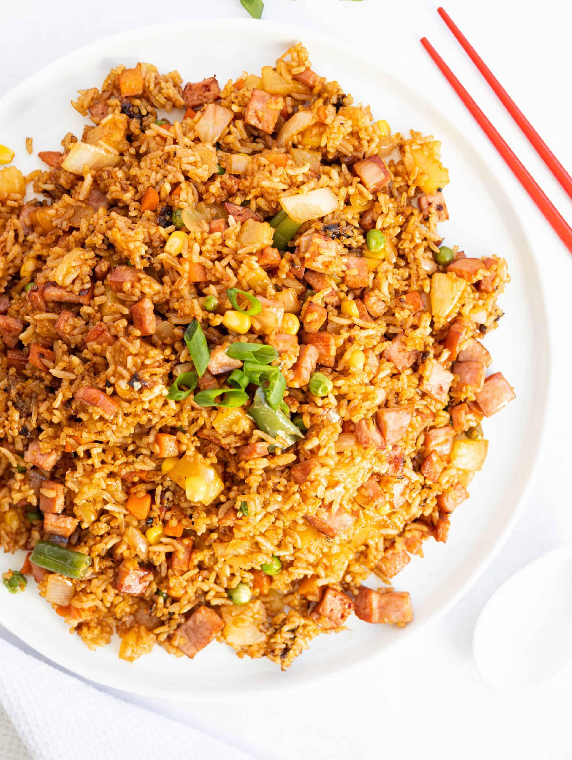 Ham Pineapple Fried Rice