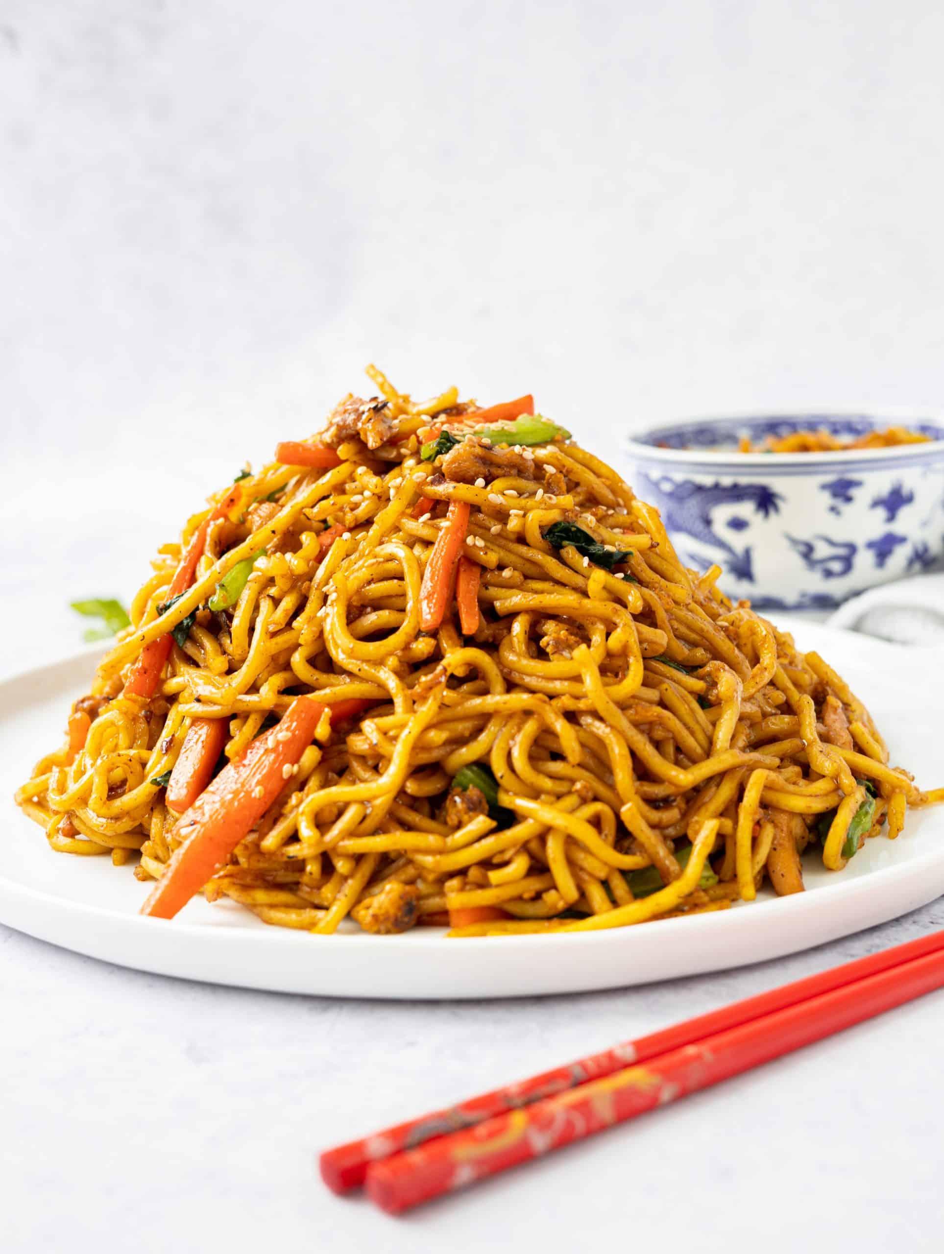 Hoisin Chicken Noodles