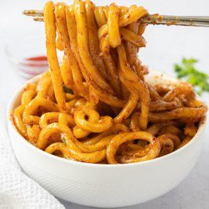 chili oil garlic noodles