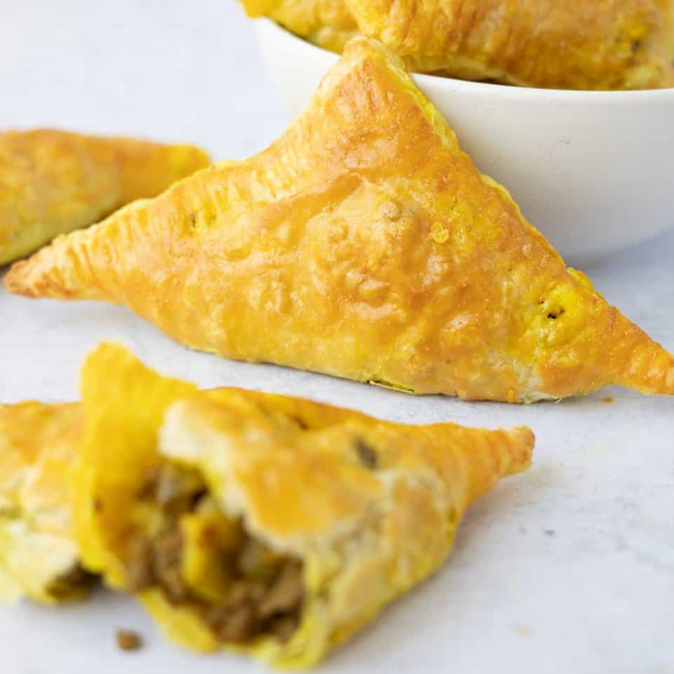 chinese curry beef puff recipe