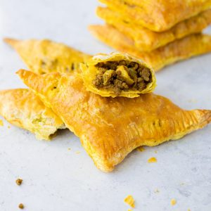 chinese curry beef puff