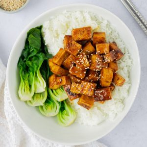 japanese teriyaki tofu
