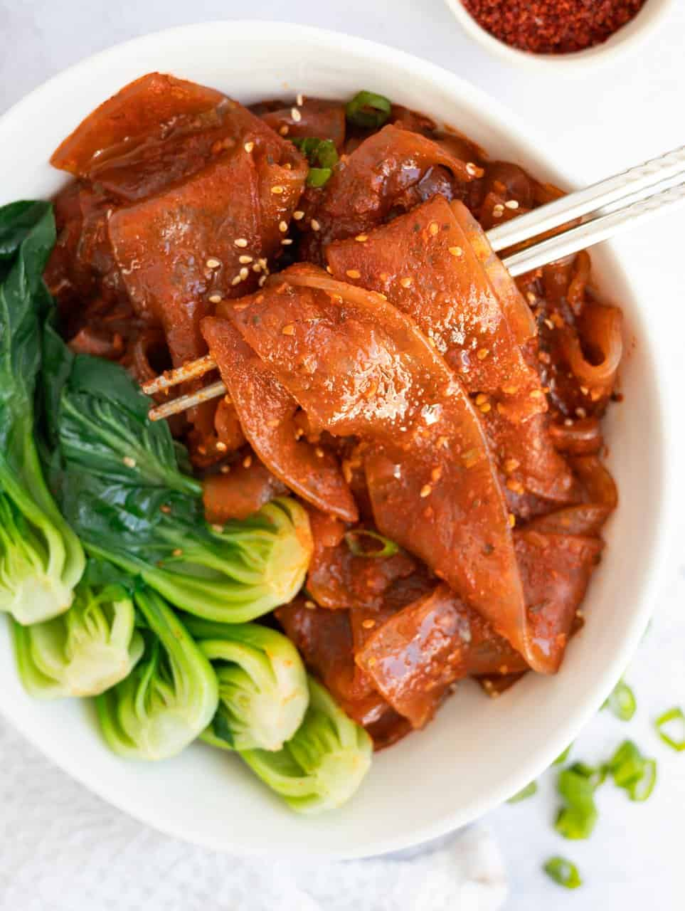 Spicy Sweet Korean Glass Noodles