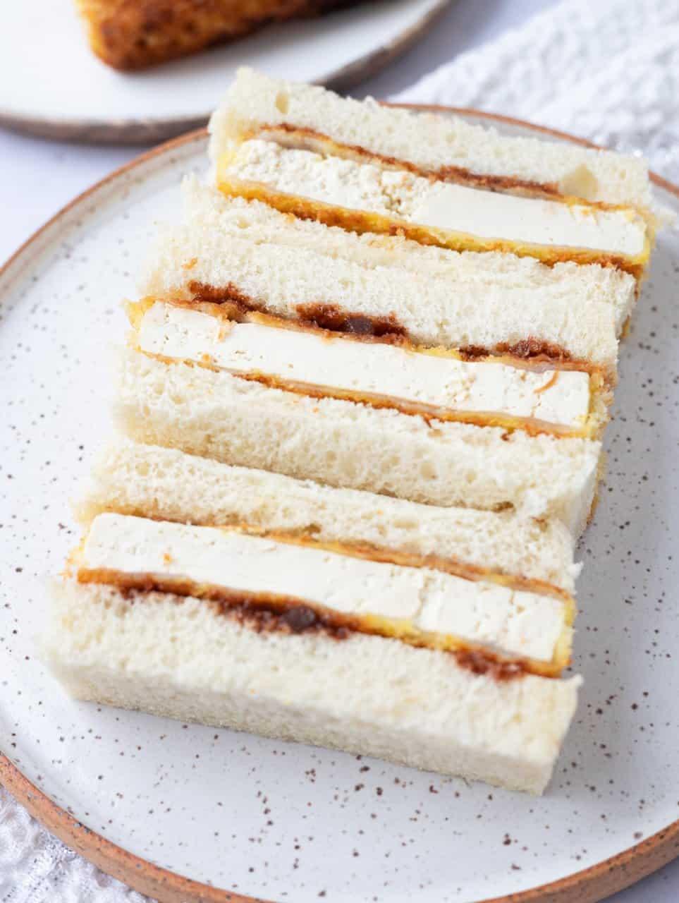 Tofu Katsu Sando