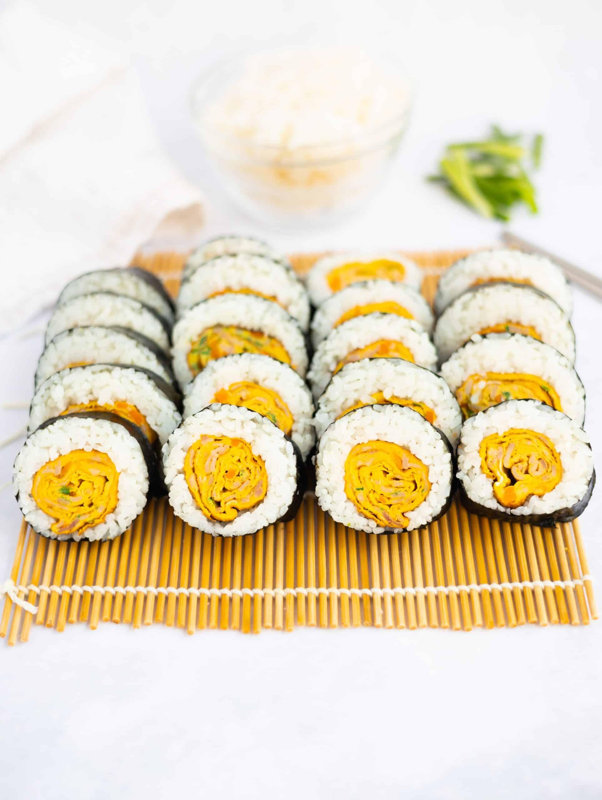Korean Egg Roll Kimbap