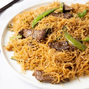 Chinese Beef Noodle Stir-Fry