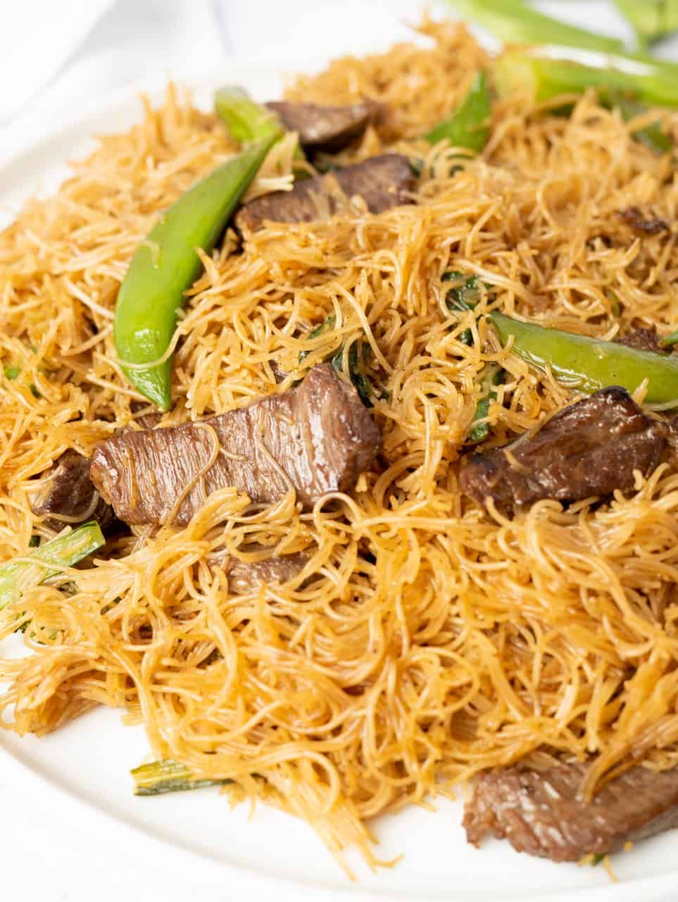 Chinese Beef Noodle Stir Fry