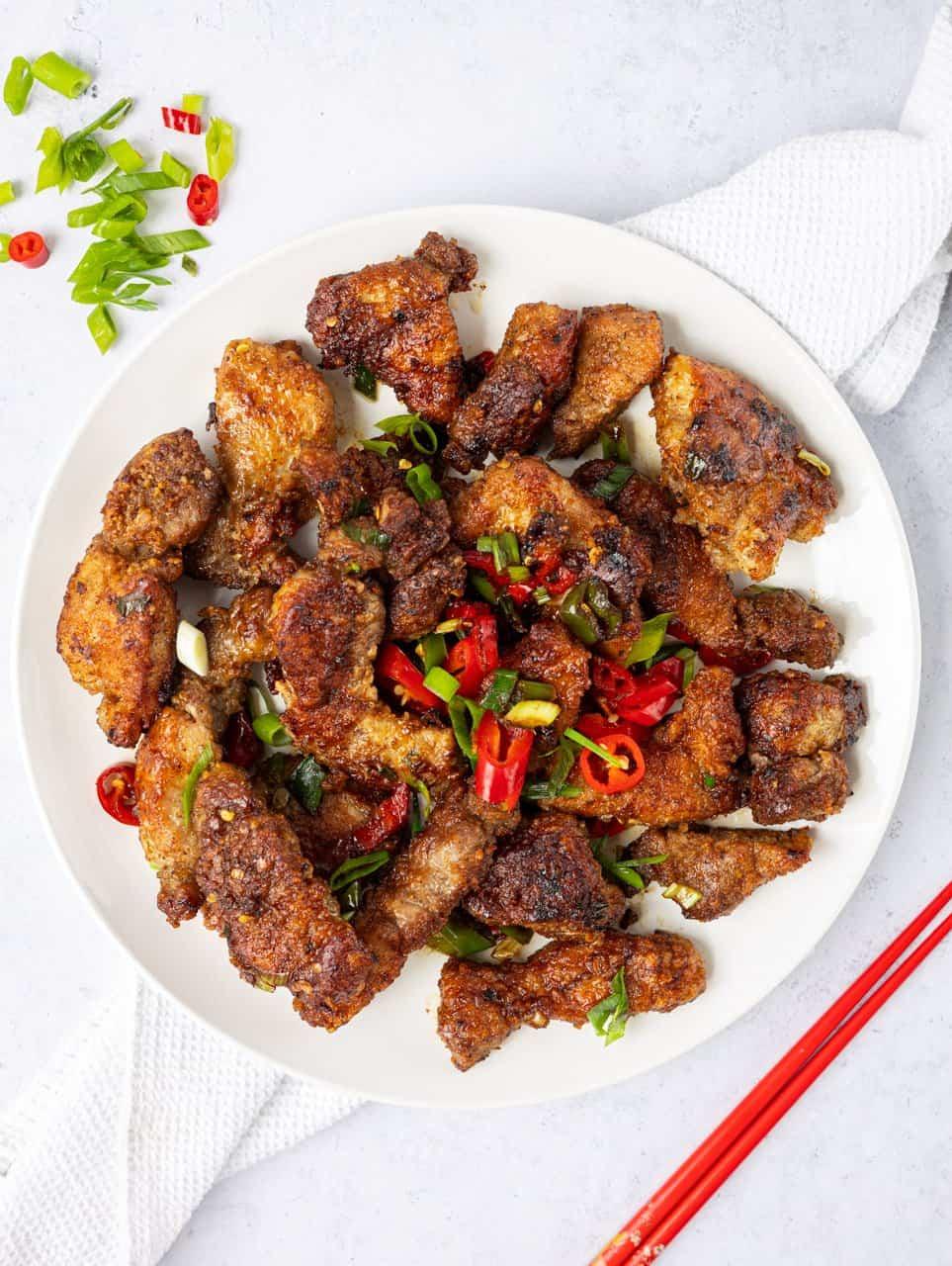 Chinese Salt and Pepper Pork