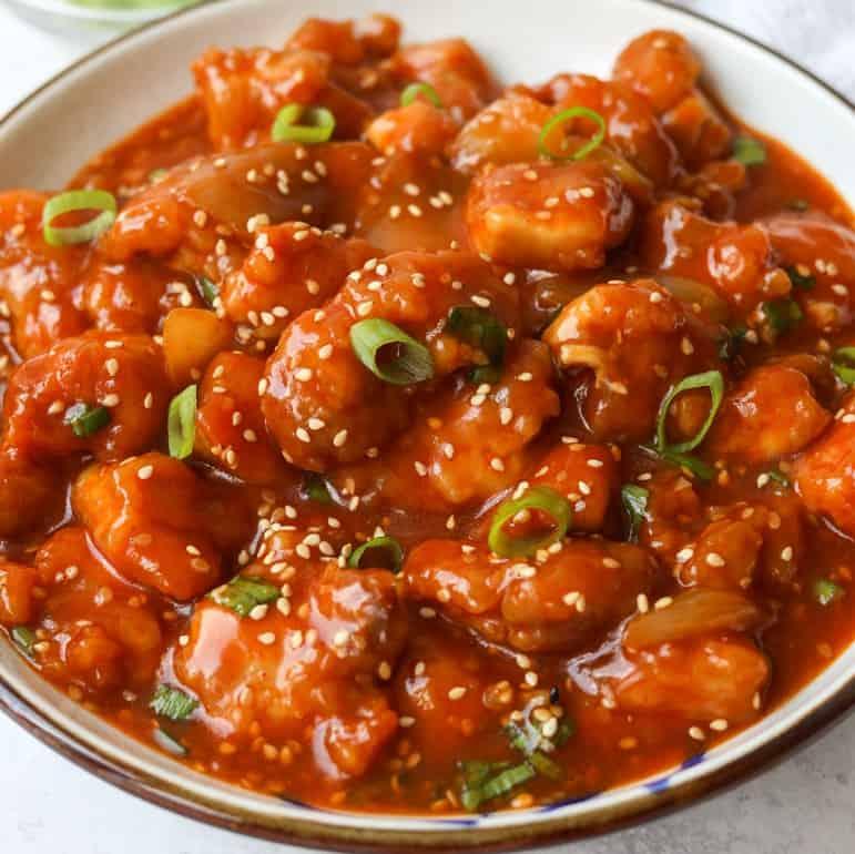 sweet spicy gochujang chicken