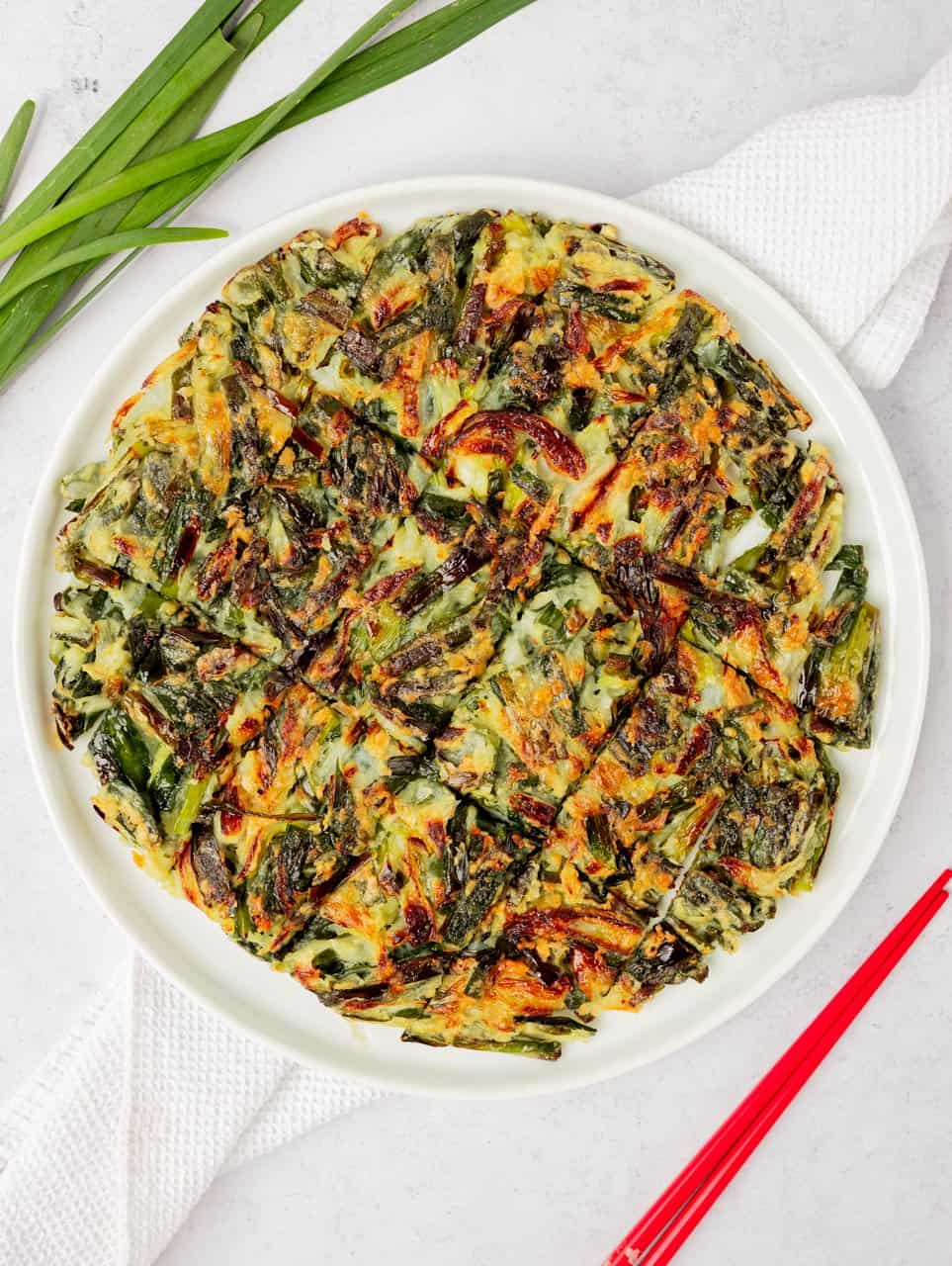 Buchujeon Korean Garlic Chive Pancake