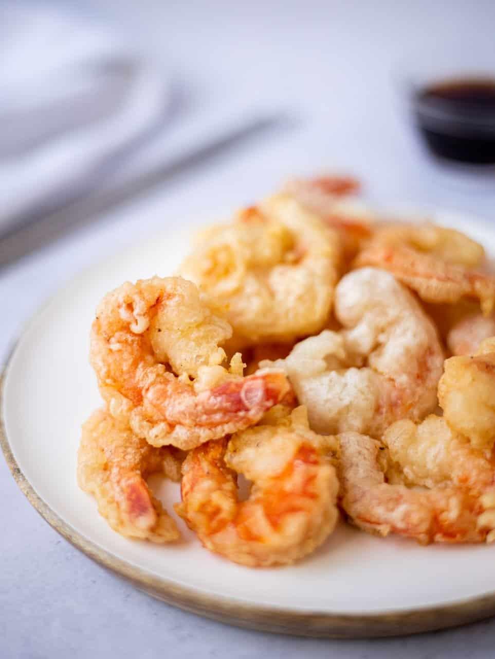 Easy Japanese Shrimp Tempura