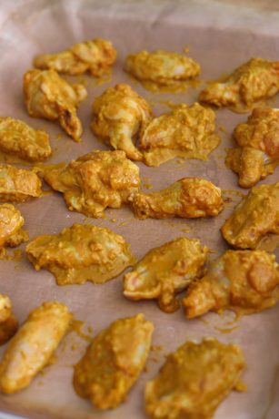 Baked Malaysian Curry Wings