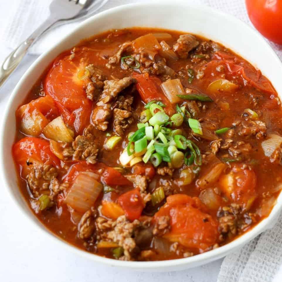 Chinese Beef Tomato Stir-fry