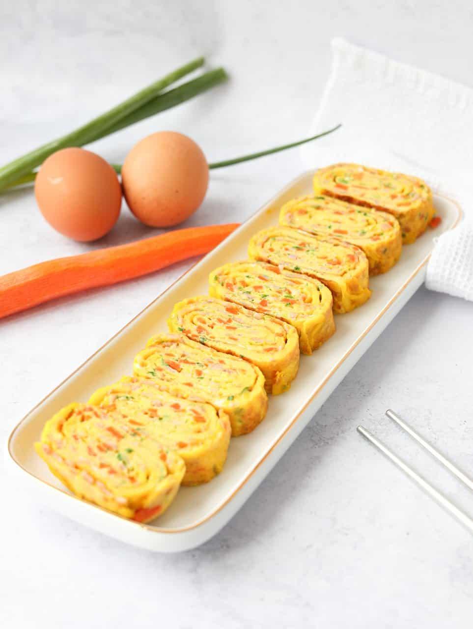 Gyeran Mari Korean Rolled Omelette