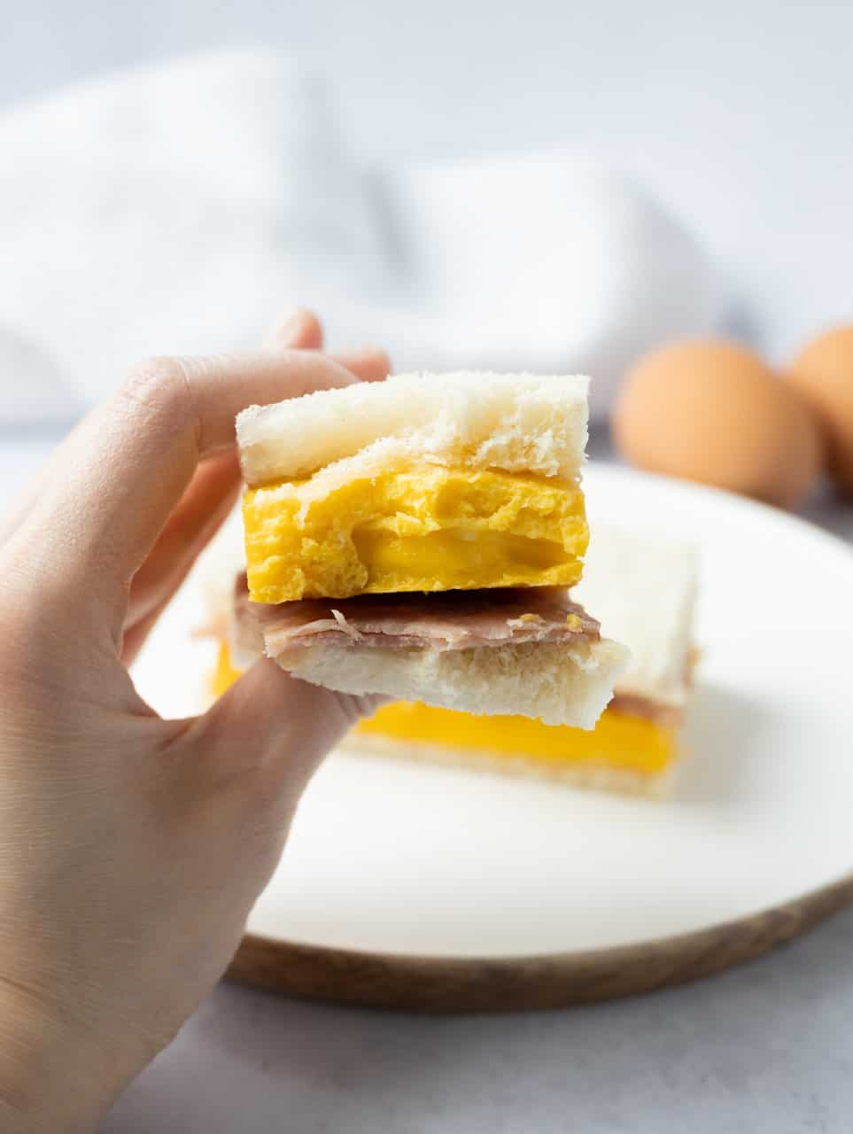 Hong Kong Ham Egg Sandwich