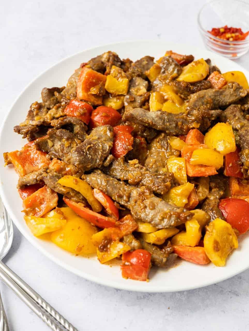 Chinese Style Satay Beef