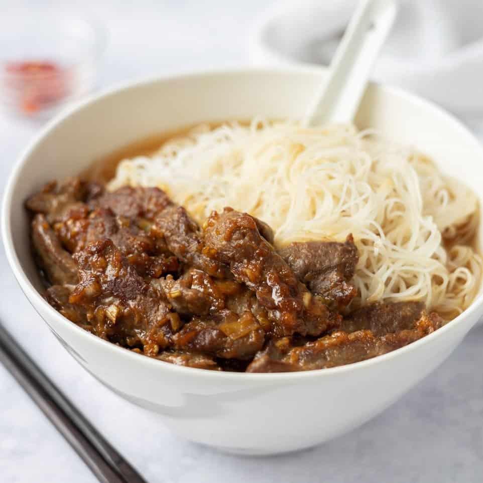 Satay Beef Noodle Soup