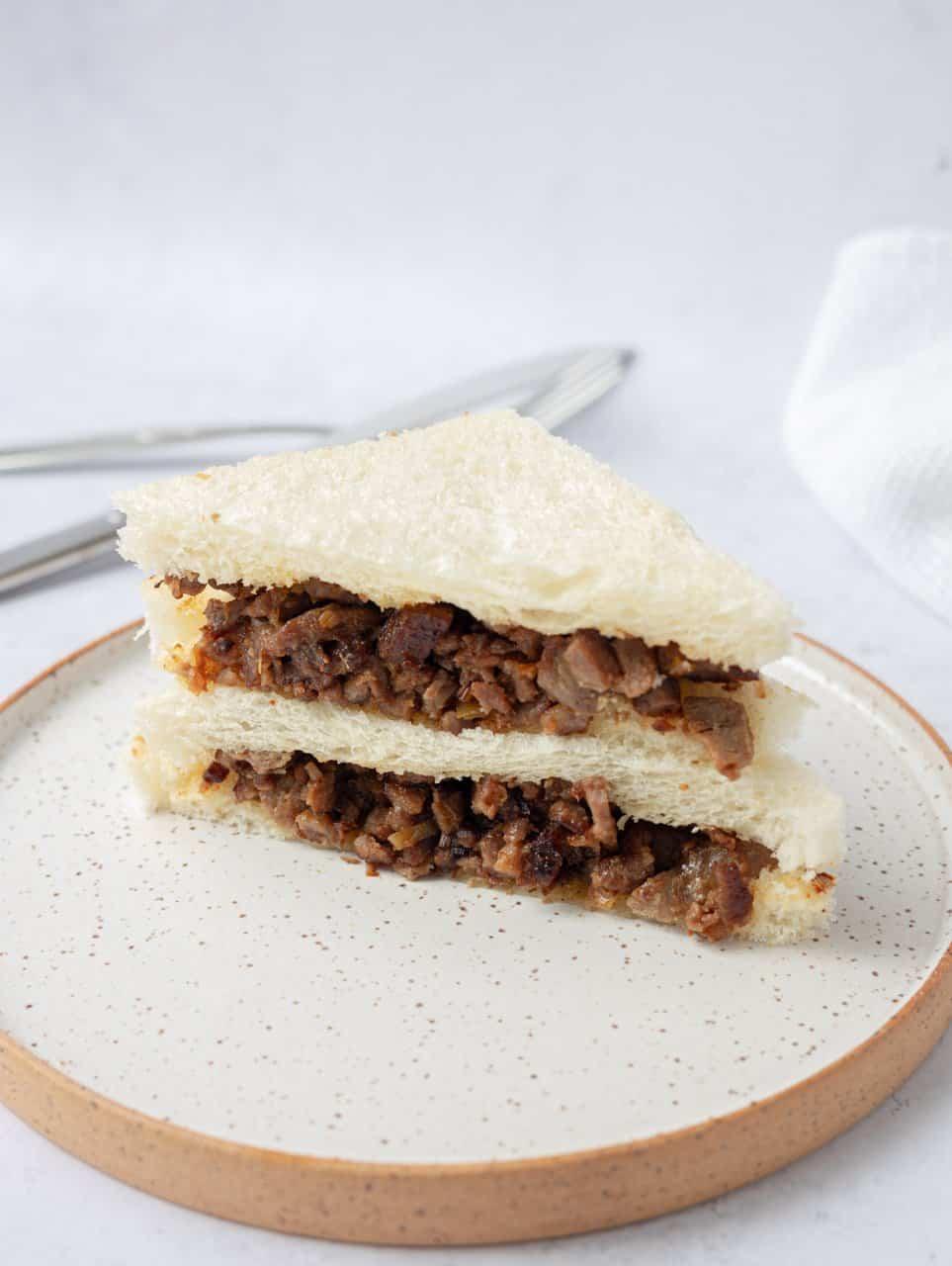 Satay Beef Sandwich