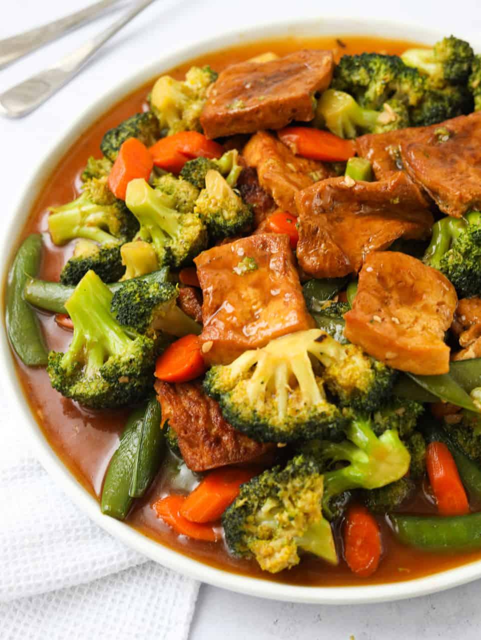 Chinese Braised Tofu