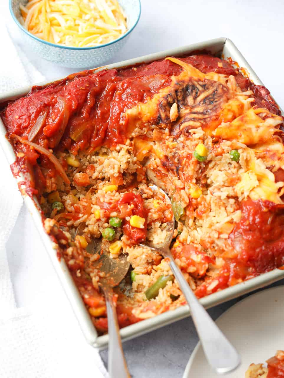 Hong Kong-Style Baked Pork Chop Rice