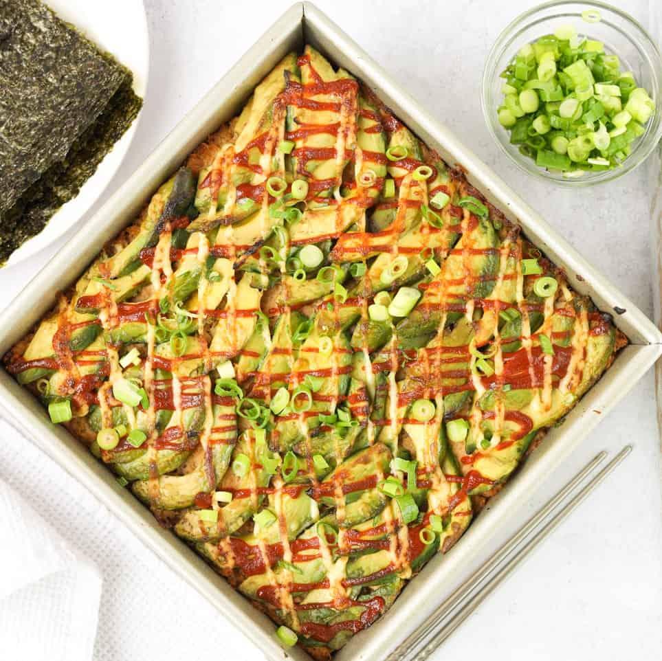 Spicy Tuna Sushi Bake