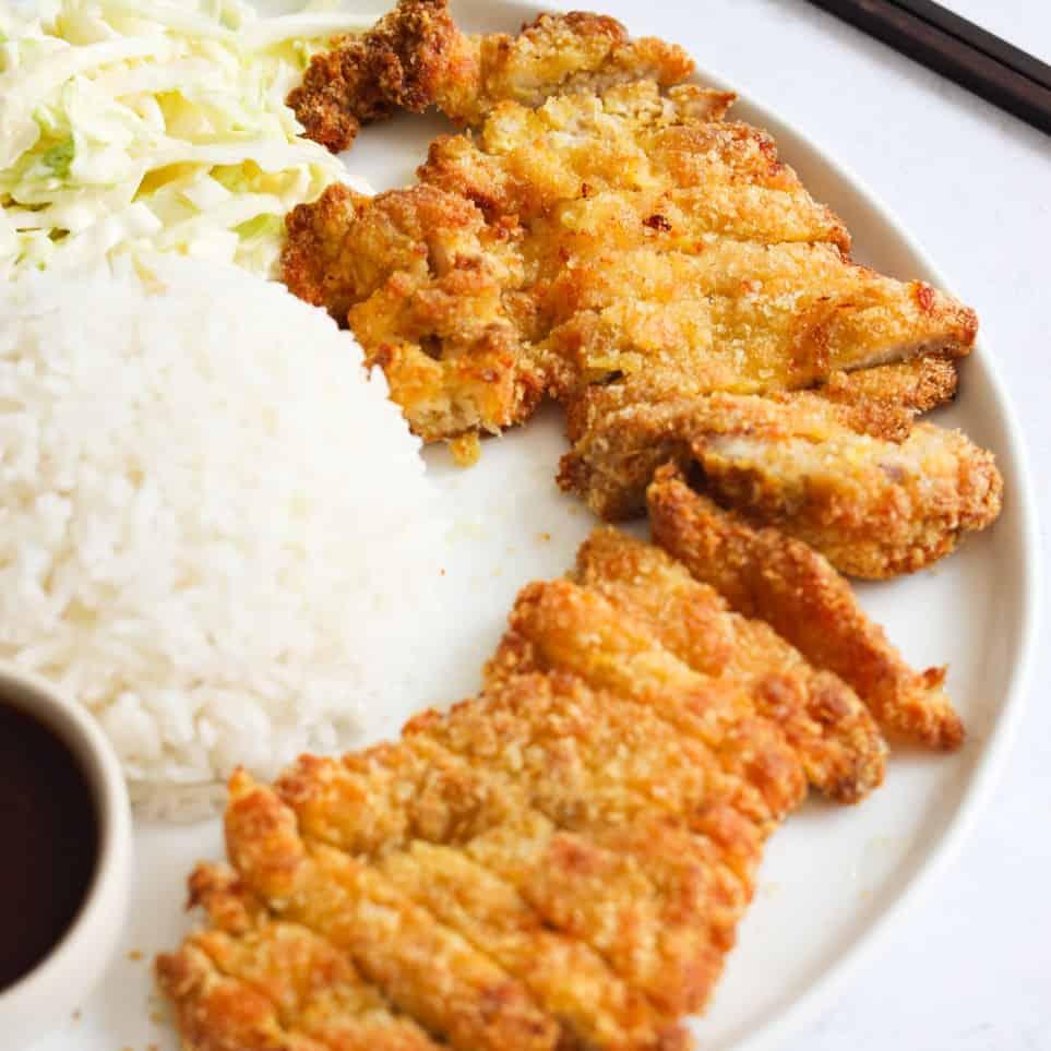 Air Fryer Chicken Katsu