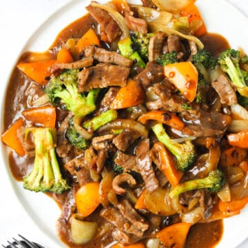 Black Bean Sauce Beef and Broccoli