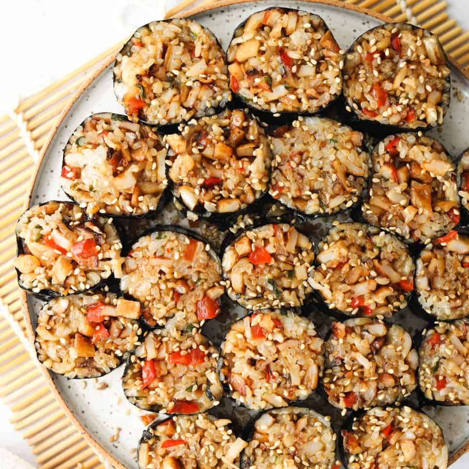 Fish Cake Kimbap