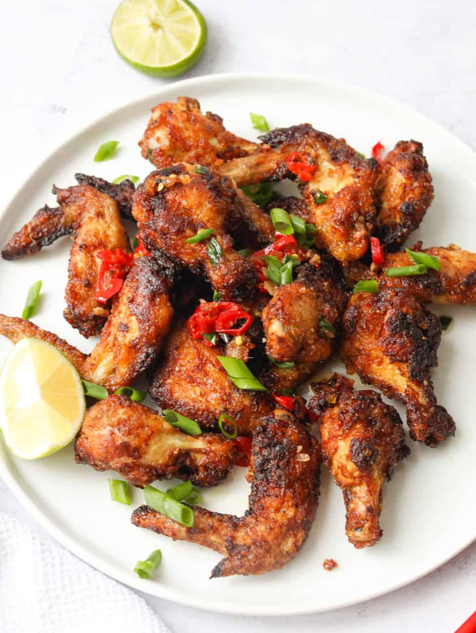 Vietnamese Garlic Butter Chicken Wings