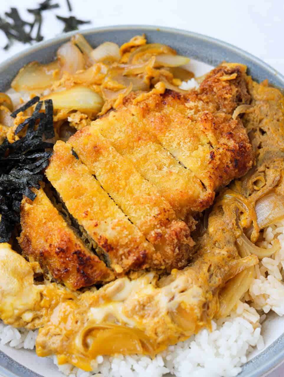 Air Fryer Japanese Katsudon