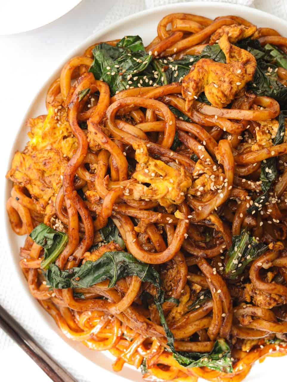 Soy Egg Udon Stir Fry