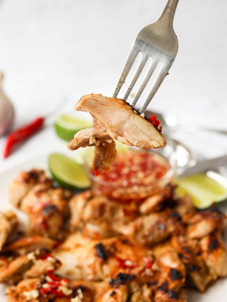 Skillet Vietnamese Lemongrass Chicken